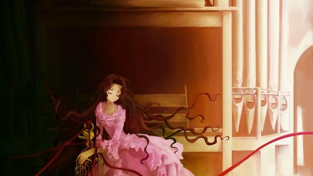 Аниме обои картинки Принцесса.