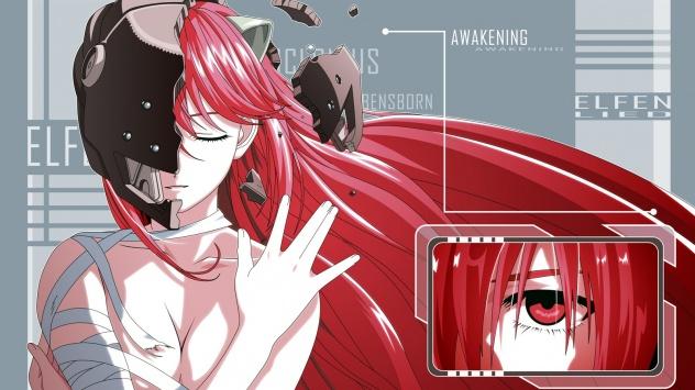 Аниме обои картинки Elfen Lied, Lucy, Люси, Эльфийская песнь