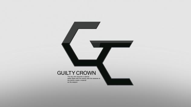 Аниме обои картинки логотип Корона вины