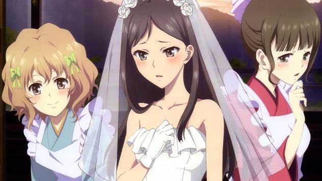 Аниме обои картинки Невеста и служанки