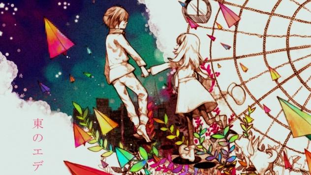 Аниме обои картинки Морими Саки, Takizawa Akira, Восточный Эдем