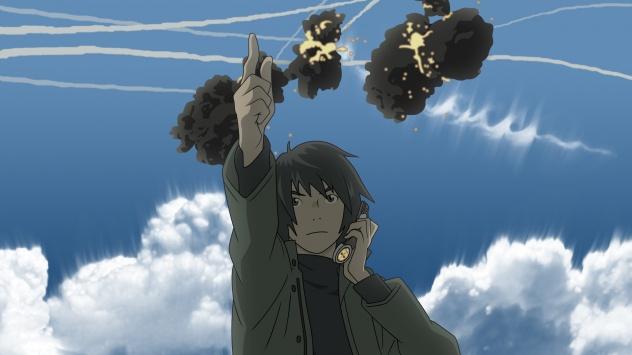 Аниме обои картинки Восточный Эдем, Такизава Акира