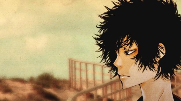 Аниме обои картинки Учитель-мафиози Реборн!, персонаж Хибари Кёйя