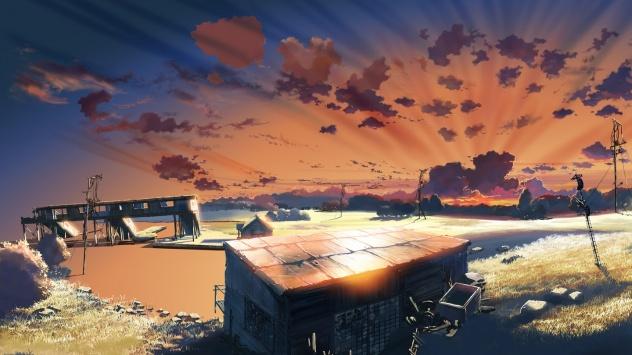 Аниме обои картинки Синкай Макото, создатель аниме За облаками