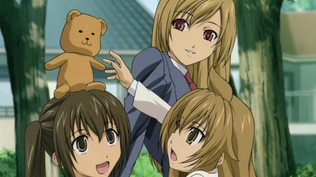 Аниме обои картинки Minami Chiaki, Minami Haruka, Minami Kana, Сёстры Минами, Кана Минами, Харука Минами, Тиаки Минами