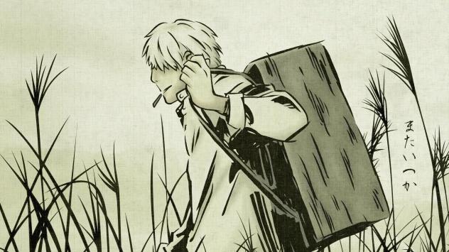 Аниме обои картинки Ginko, Мастер Муси, Гинко
