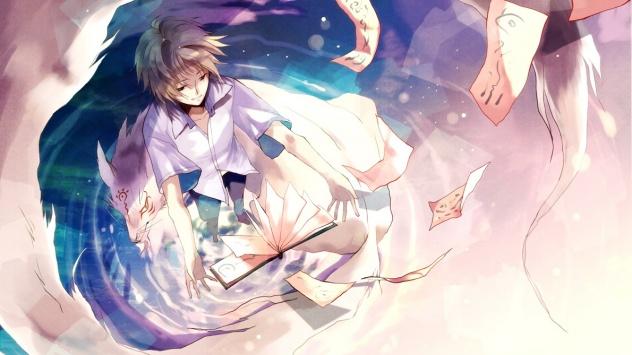Аниме обои картинки Мадара, Нацуме Такаши, Тетрадь дружбы Нацумэ