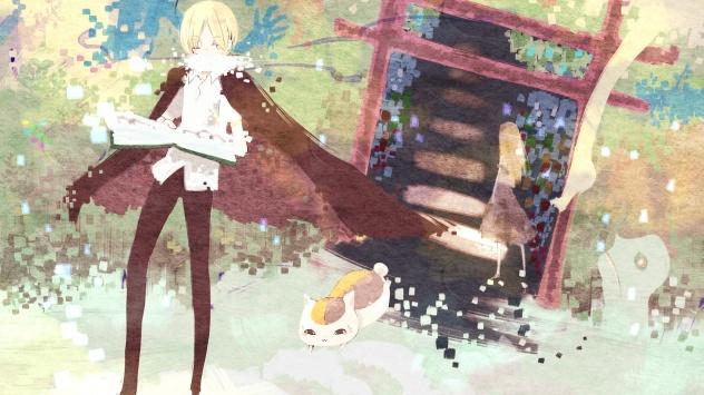 Аниме обои картинки Тетрадь дружбы Нацумэ, Нацуме Рэйко, Мадара, Natsume Takashi