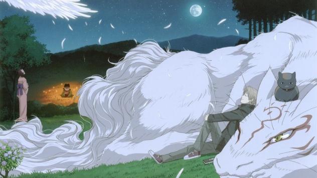 Аниме обои картинки Мадара, Тетрадь дружбы Нацумэ.
