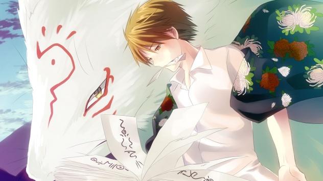 Аниме обои картинки Тетрадь дружбы Нацумэ, Natsume Takashi, Madara