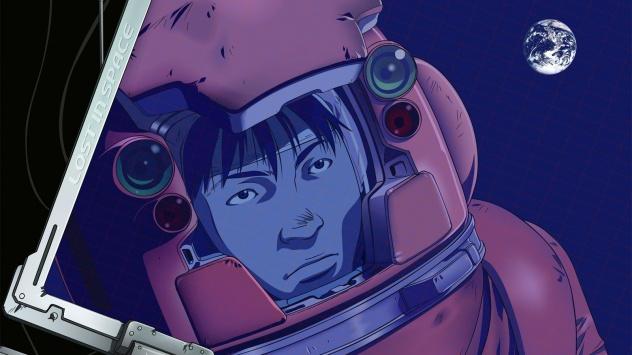 Аниме обои картинки Редкое аниме про космос
