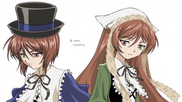 Аниме обои картинки Суйсэй и Сосэй