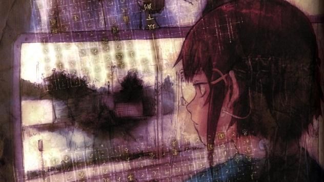 Аниме обои картинки Эксперименты Лэйн, девочка Ивакура Лейн