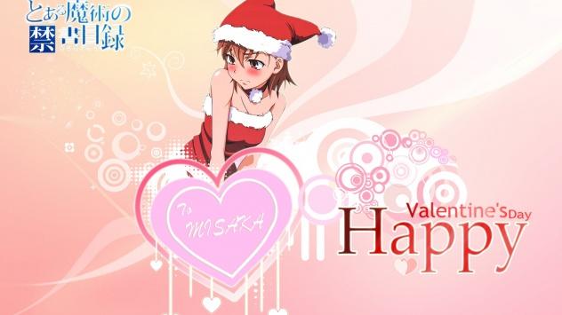 Аниме обои картинки День святого Валентина